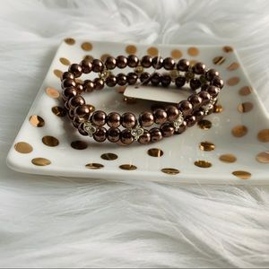 NEW Brown stretch bracelet